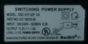 power supply spec