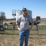 Frank Braswell in Osage County, Oklahoma