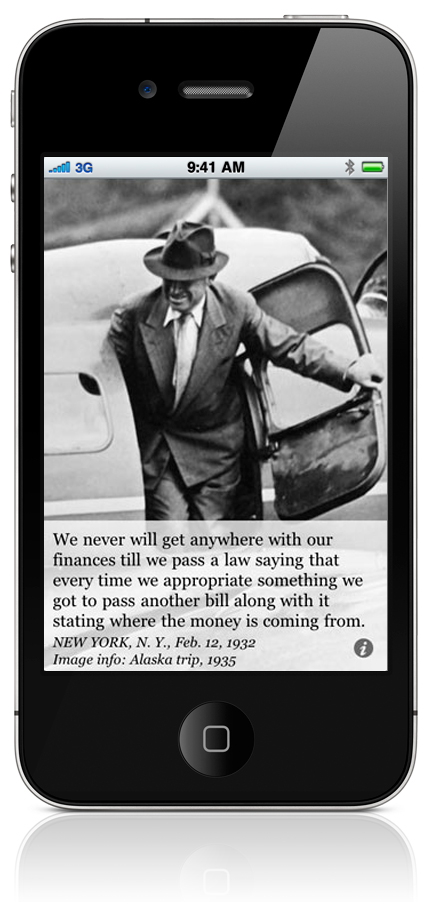 We never will get anywhere with our finances till we pass a law saying that every time we appropriate something we got to pass another bill along with it stating where the money is coming from. NEW YORK, N. Y., Feb. 12, 1935