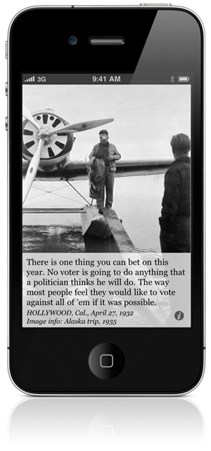 There is one thing you can bet on this year. No voter is going to do anything that a politician thinks he will do. The way most people feel they would like to vote against all of 'em if it was possible. HOLLYWOOD, Cal., April 27, 1932