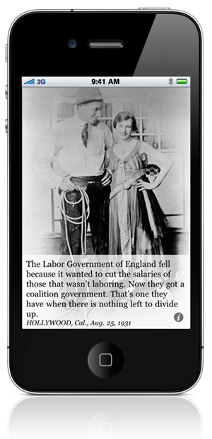 The Labor Government of England fell because it wanted to cut the salaries of those that wasn't laboring. Now they got a coalition government. That's one they have when there is nothing left to divide up. HOLLYWOOD, Cal., Aug. 25, 1931