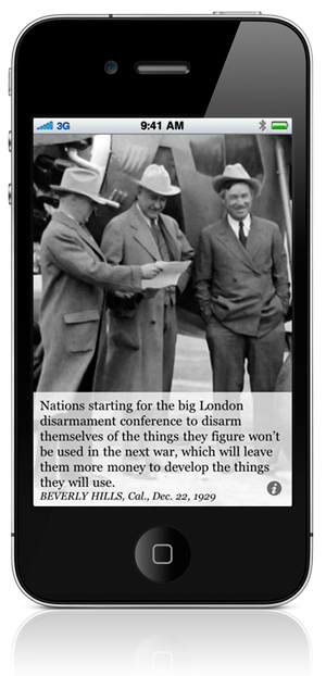 Nations starting for the big London disarmament conference to disarm themselves of the things they figure won't be used in the next war, which will leave them more money to develop the things they will use. BEVERLY HILLS, Cal., Dec. 22, 1929