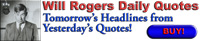 01 Will Rogers Daily Quotes